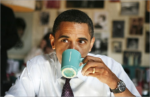 doubleshot obama coffee